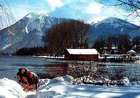 Bad Wiessee am Tegernsee , Ansichtskarte,  gelaufen