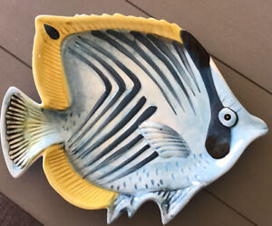 Pier One Pier 1 Imports Sea Life Sun Fish Platter