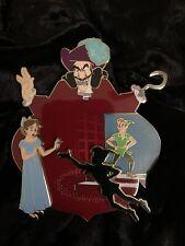 Disney Peter Pan Wendy Captain Hook Tinker Bell Fantasy Pin Le 50 Yoyo New
