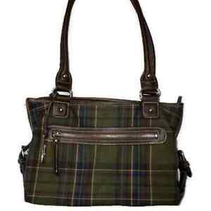 Chaps Plaid Small Bags Handbags For