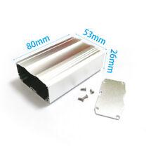 """Aluminum Project Box extruded enclosure case 26(1.02"""")X53(2.08"""")X80mm(3.14"""") DIY"""