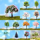 2*Miniature Sakura Tree Plants Fairy Garden Accessories Dollhouse Ornament Decor