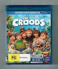The Croods - Blu-ray + Dvd 2-Disc Set Brand New & Sealed