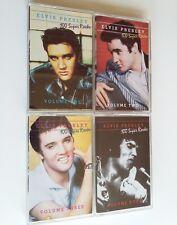 Elvis Presley 100 Super Rocks Four Volume Set (Audio Cassette) Collectible RARE
