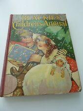 Blackie's Children's Annual (antique children's book from 1917)