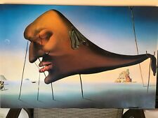 "SALVADOR DALI ""SLEEP"" LIMITED NUMBERED EDITION OF 95 Giclee ON CANVAS 52/95"