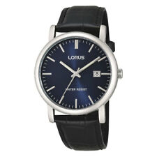 Lorus hommes montre avec bracelet cuir rg841cx9-lnp