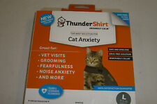 Thundershirt For Cats Size Large Solid Gray Brand New Free Shipping