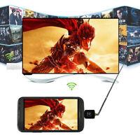 USB DVB-T Digital TV Tuner Receiver For Android Smartphone Tablet HDTV Black