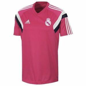 Adidas Men's Real Madrid 2014/15 Football Training Shirt New F84297 Size XL