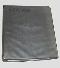 Werkstatthandbuch Glas Isar T 600 / 700 Großes Goggomobil Goggo