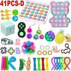 41 Pack Fidget Toys Set Sensory Tools Bundle Stress Relief Hand Kids Adults Toys