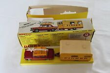 French Dinky 882 Pinder Circus Set with Peugeot 404 & Caravan. Rare.
