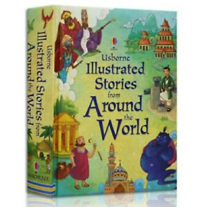 Illustrated Stories from Around the World, Hardcover by Lesley Sims FREE SHIP!