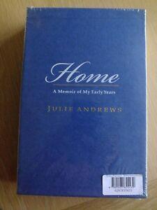 Julie Andrews : Home signed Ltd numbered slipcased 1st Edn