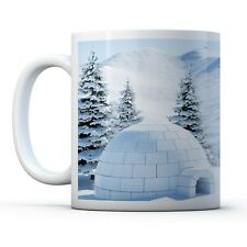 Awesome Igloo - Drinks Mug Cup Kitchen Birthday Office Fun Gift #15856