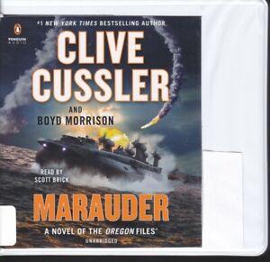 MARAUDER by CLIVE CUSSLER ~ UNABRIDGED CD AUDIOBOOK