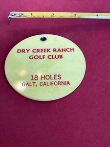 DRY CREEK RANCH GOLF CLUB BAG TAG
