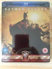 Batman Begins Steelbook Blu Ray