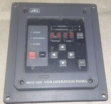 NCG-169 JRC VDR Operation Panel Unit CCK-935 OPB H-7PCJD0220B NCG169