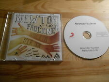 CD POP Newton Faulkner-write it on your skin (1) canzone PROMO SONY MUSIC SC