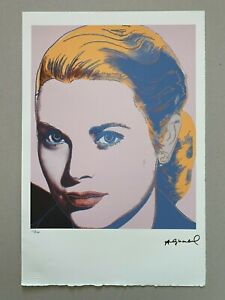 ANDY WARHOL *Leo Castelli* Lithograph Edition 12/120 Grace Kelly