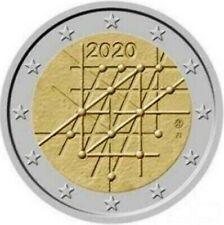 25 x 2 Euro 2020 Gedenkmünze 100 Jahre Universität Turku Original Sichtrolle