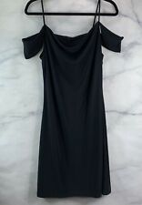 NWT Women's Carabella Collection Black Cocktail Dress Size Large