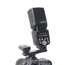 Dual Flash Splitter Speedlite Bracket Hot Shoe Bracket Black For Nikon I-TTL