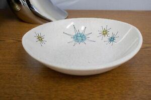 """Franciscan Atomic Starburst Berry Cereal Bowl 7"""" Gladding McBean"""