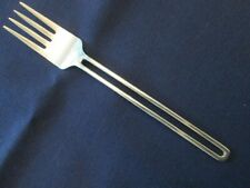 INDIVIDUAL SALAD FORK! Vintage OXFORD HALL stainless: THE GAP pattern: LOVELY