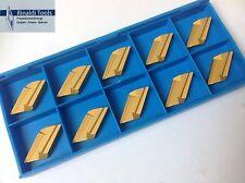 10 x Wendeplatten KNUX 160405 L11 P25-TIN für Stahl  NEU!! Mit Rechnung!!