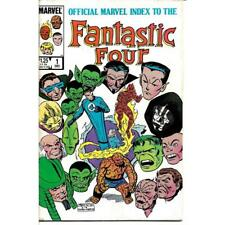 The Official Marvel Index to The Fantastic Four 1 One December 1985 comic books
