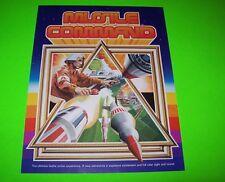 Atari MISSILE COMMAND Original 1980 NOS Video Arcade Game Promo Sales Flyer