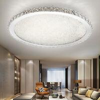 Modern Ceiling Lights 31.5'' LED Lamp Living Room Bedroom White 30/36/72W
