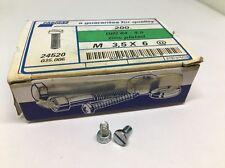 DIN 84-4.8 Cheese Head Slotted Metric Machine Screws M3.5 x 6 Lot Of 200 Screws