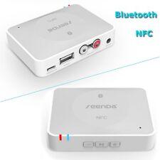 Bluetooth 3.0 3.5mm USB NFC Wireless Stereo Audio Music Speaker Receiver Adapter