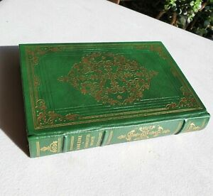 NEW FRANKLIN LIBRARY Jane Eyre Charlotte Bronte Leather  Green Gold Oxford Press