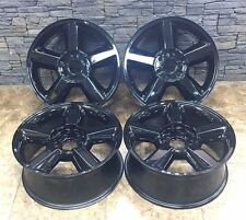 "20"" 20 Inch OEM Factory Chevrolet Avalanche Tahoe Suburban Wheels Rims Set Of 4"