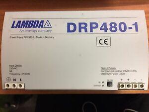 Lambda DRP480-1 24VDC 20A 480W Power Supply