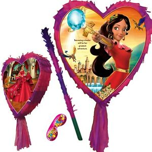 Heart Pinata Smash Party Sofia Magic Girls Elena Princess the First of Avalor