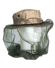 Mil-Tec Moskitokopfnetz mit Gummizug Moskitonetz Insektenschutz Hutnetz