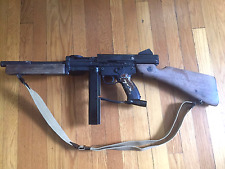Custom M1A1 Thompson Submachine Paintball Gun Tippmann A5 w/E-grip