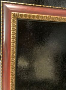 """Vintage Picture Photo Ornate Frame Brown with Gold 17"""" x 14 """" (14"""" x 11"""")"""