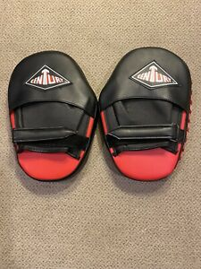 Century Red Adjustable Boxing Mitts Boxer Gloves Training