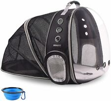 Pet Backpack Carriers Foldable for Cats Puppy Dogs and Birds, Airline-Approved