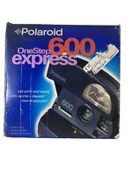 polaroid 600 one step Express blue Camera