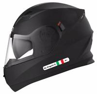 6 Adesivi CASCO MOTO: NOME PERSONALIZZATO + BANDIERA ITALY + GRUPPO SANGUIGNO RH