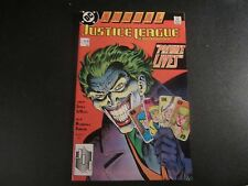 JUSTICE LEAGUE ANNUAL #2  AWESOME JOKER COVER COMIC SEE THE PICS!!!
