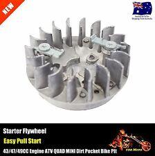 47cc 49cc Engine Minimoto Easy Pull Start Flywheel 4 Pocket Bike Mini Dirt ATV